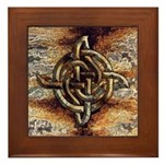 Celtic Rock Knot Framed Tile