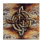 Celtic Rock Knot Tile Coaster