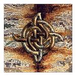 Celtic Rock Knot Square Car Magnet 3