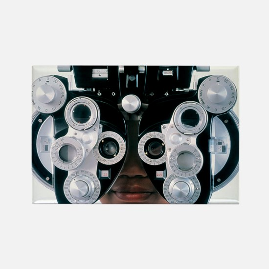 Eye examination - Rectangle Magnet