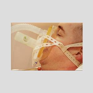 Intensive care patient - Rectangle Magnet