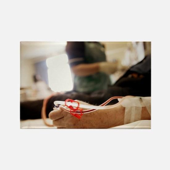 Kidney dialysis - Rectangle Magnet