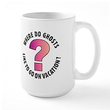 Ghost Joke Wrap-around Large Mug