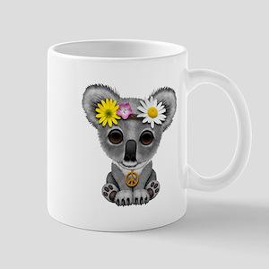 Cute Baby Koala Hippie Mugs