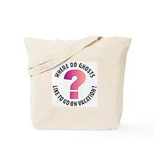 Ghost Joke (2 sided) Tote Bag