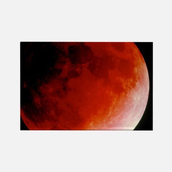 Lunar eclipse - Rectangle Magnet