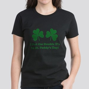 Double D's St. Paddy's Day Women's Dark T-Shirt