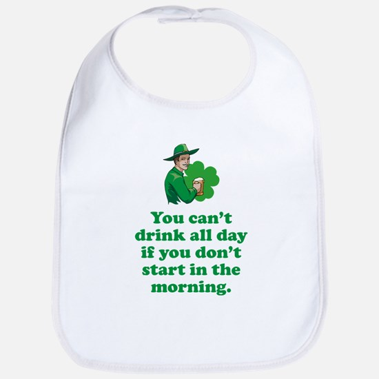 Drink All Day Bib