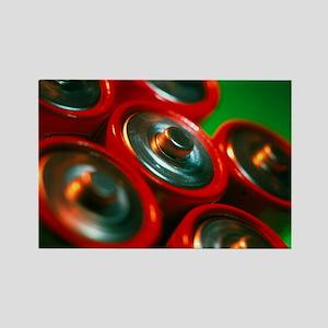 Batteries - Rectangle Magnet