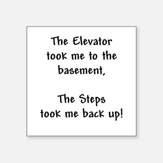Recovery 12 Step Slogan Sticker