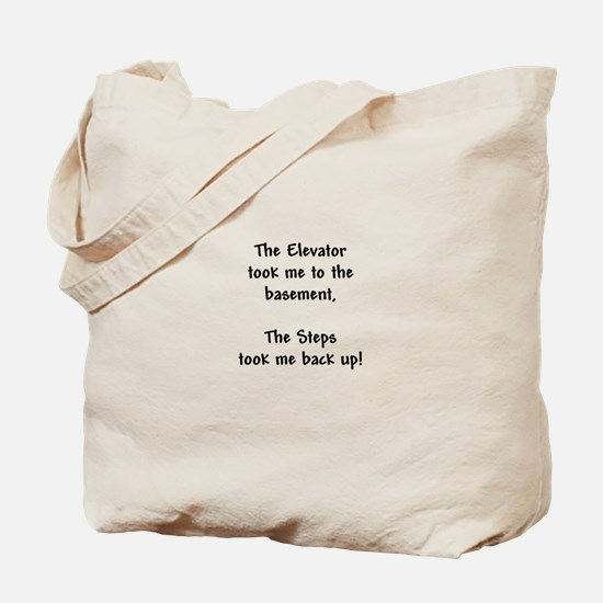 Recovery 12 Step Slogan Tote Bag