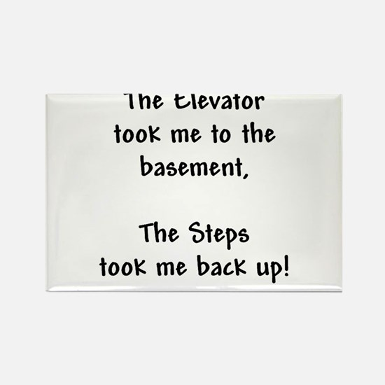 Recovery 12 Step Slogan Rectangle Magnet