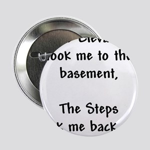 "Recovery 12 Step Slogan 2.25"" Button"