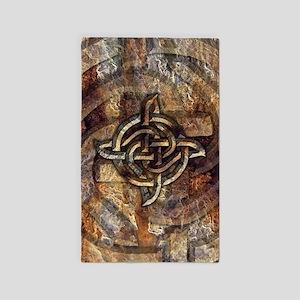 Celtic Rock Knot 3'x5' Area Rug