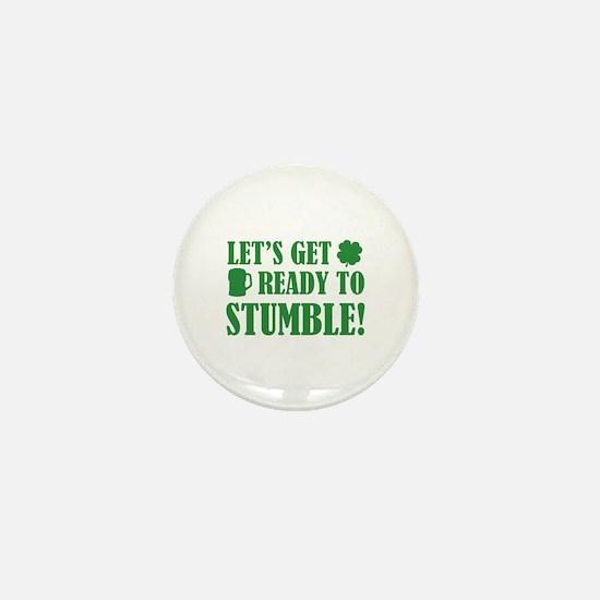 Let's get ready to stumble! Mini Button