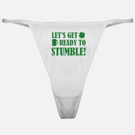 Let's get ready to stumble! Classic Thong