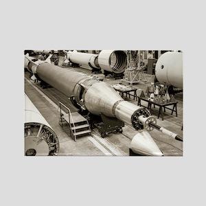 Rocket production - Rectangle Magnet