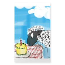 Happy Birthday to Ewe! Sticker