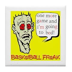 Basketball Freak Tile Coaster