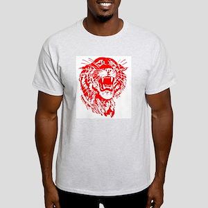 Snarling tiger Ash Grey T-Shirt