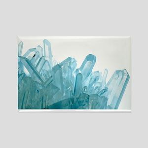 Quartz crystals - Rectangle Magnet