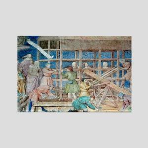 ry fresco - Rectangle Magnet