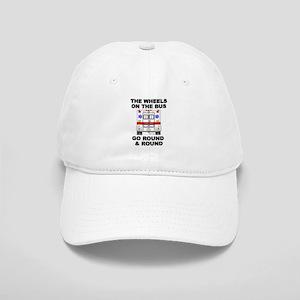 Ambulance Wheels Go Round Cap