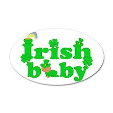 Irish Baby Wall Decal