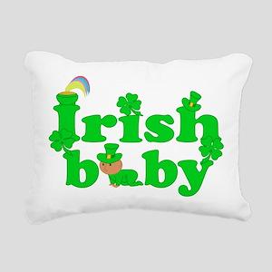 Irish Baby Rectangular Canvas Pillow