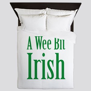 A Wee Bit Irish Queen Duvet