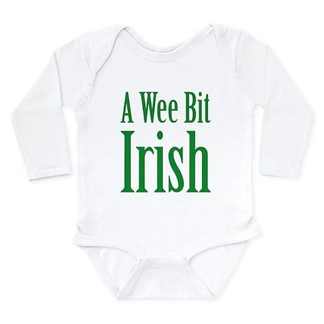A Wee Bit Irish Infant Bodysuit Long Sleeve Infant