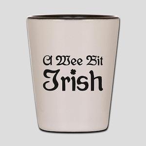 A Wee Bit Irish Shot Glass