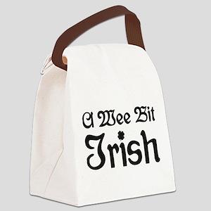 A Wee Bit Irish Canvas Lunch Bag