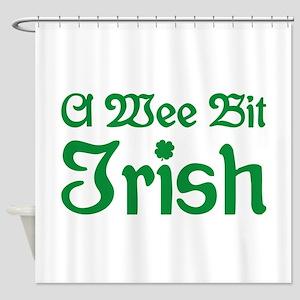 A Wee Bit Irish Shower Curtain