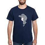 Victorian Lady Dark T-Shirt