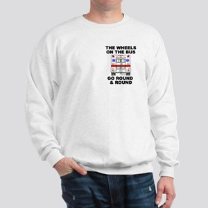 Ambulance Wheels Go Round Sweatshirt