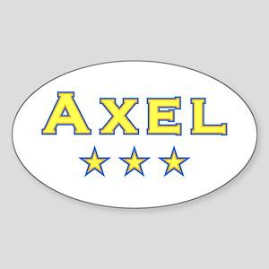 Axel Oval Sticker