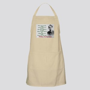 Wine Comes In At The Mouth - Yeats Light Apron