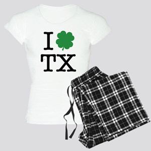 I Shamrock TX Women's Light Pajamas