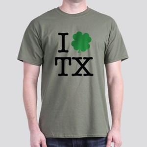 I Shamrock TX Dark T-Shirt