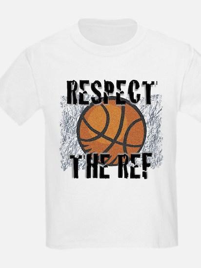 Respect the Basketball Ref Kids T-Shirt