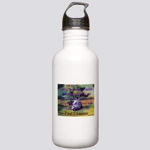 I Must Be More Sensible - Paul Cezanne Water Bottl