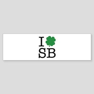 I Shamrock SB Sticker (Bumper)