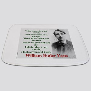 Wine Comes In At The Mouth - Yeats Bathmat