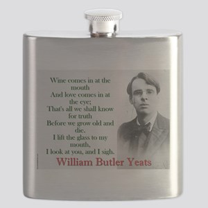 Wine Comes In At The Mouth - Yeats Flask