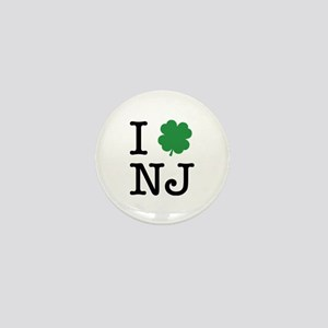 I Shamrock NJ Mini Button