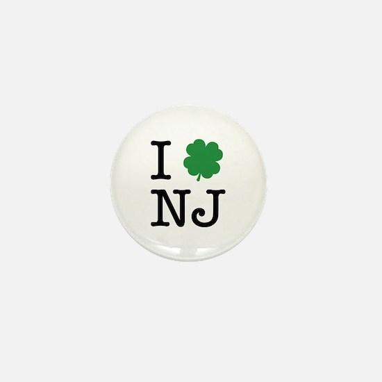 I Shamrock NJ Mini Button