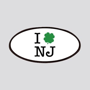 I Shamrock NJ Patches