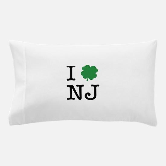 I Shamrock NJ Pillow Case