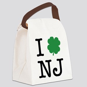 I Shamrock NJ Canvas Lunch Bag